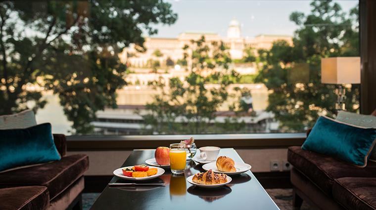 intercontinental budapest club breakfast food