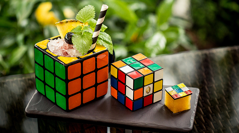 intercontinental budapest rubiks cube