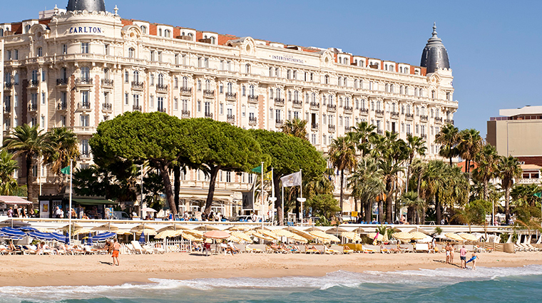 intercontinental carlton cannes exterior
