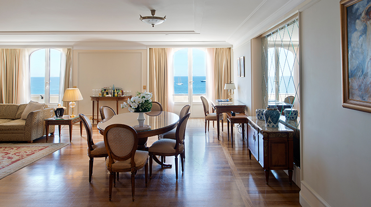 intercontinental carlton cannes suite