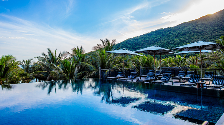 intercontinental danang sun peninsula resort LONG pool