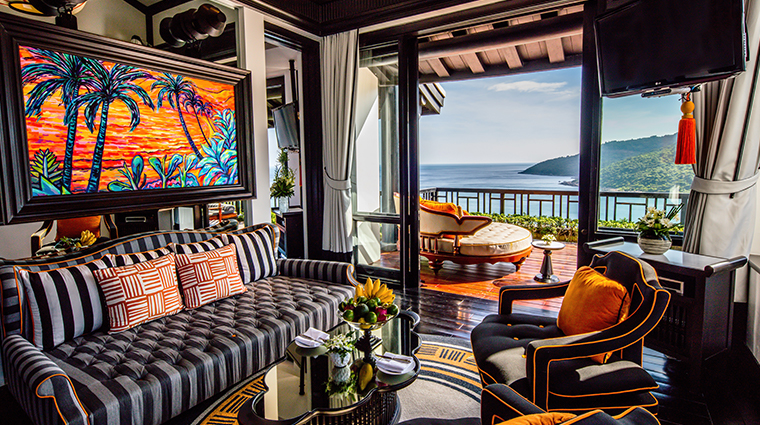 intercontinental danang sun peninsula resort heavenly penthouse living room