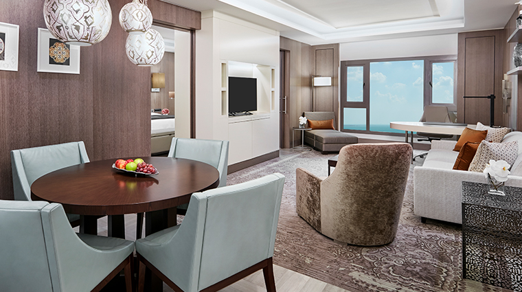 intercontinental doha executive suite living room