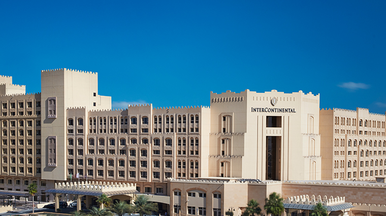 intercontinental doha facade