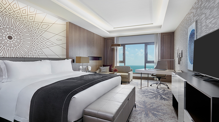 intercontinental doha sea view room