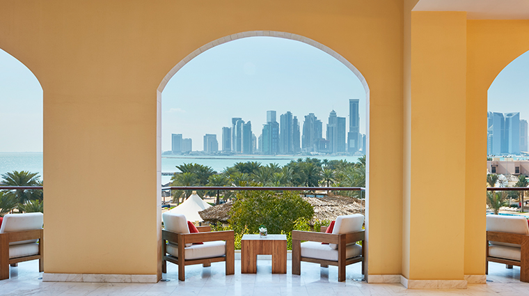 intercontinental doha terrace