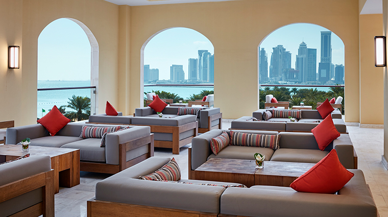 intercontinental doha terrace2