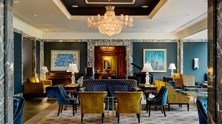 intercontinental dublin lobby lounge