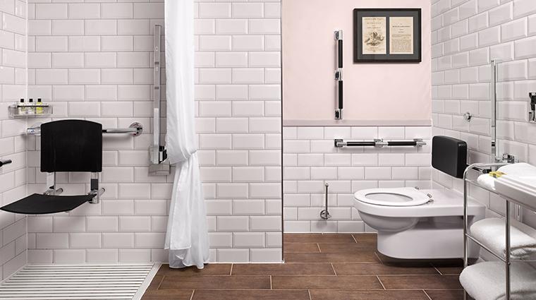 intercontinental edenburgh the george accessible bathroom