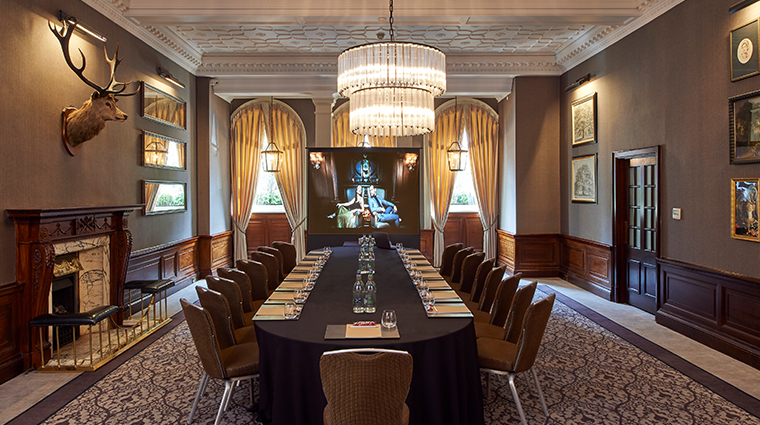 intercontinental edenburgh the george library boardroom