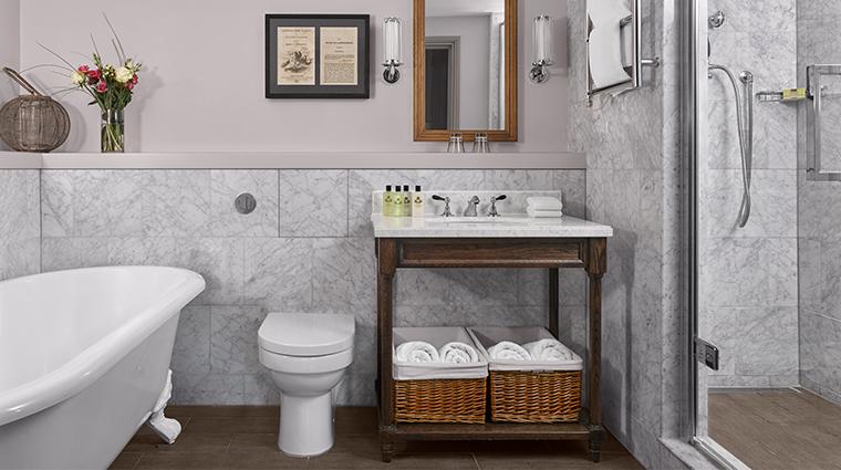 intercontinental edenburgh the george suite bathroom