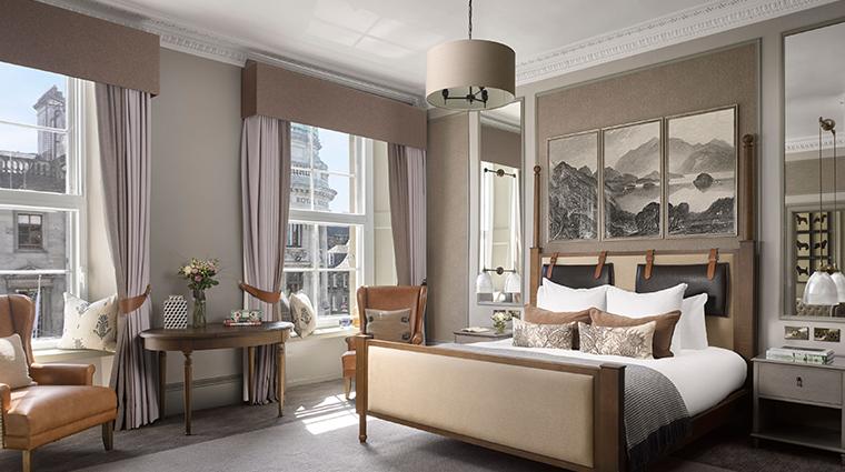 intercontinental edenburgh the george suite