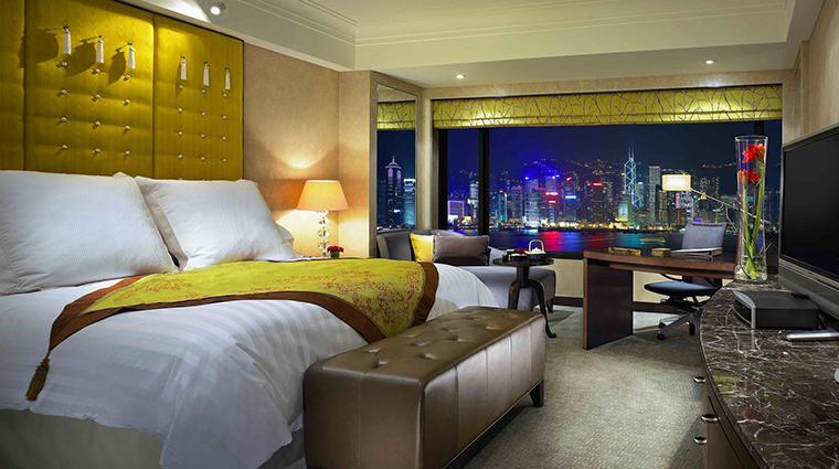 PropertyImage InterContinentalHongKong 4 Hotel GuestroomsandSuites SuperiorHarbourviewRoom CreditInterContinentalHongKong