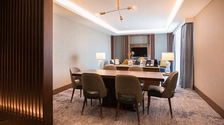 intercontinental lisbon exec suite with terrace dining
