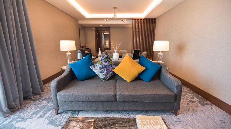 intercontinental lisbon exec suite with terrace living