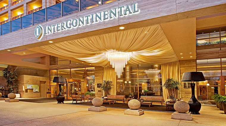 intercontinental los angeles century city exterior