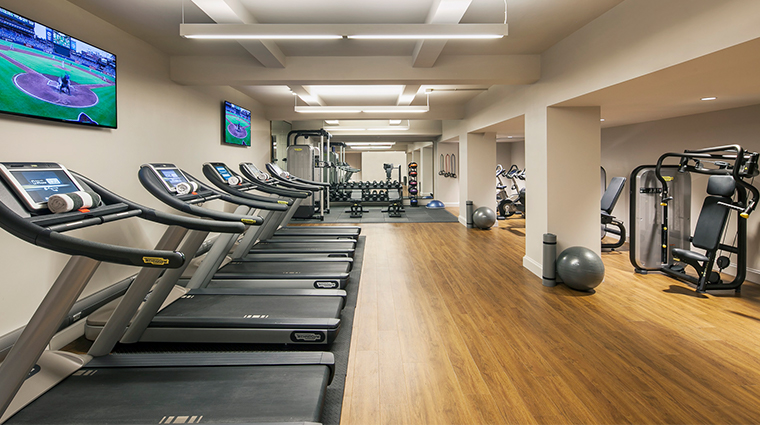 intercontinental new york barclay Fitness Center Cardio