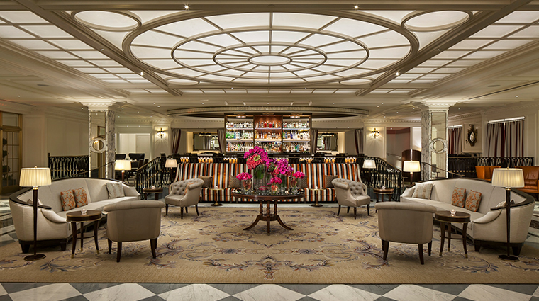 intercontinental new york barclay Lobby and Gin Parlour