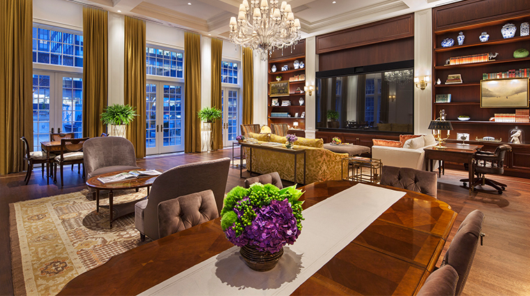 intercontinental new york barclay Penthouse Dining Area