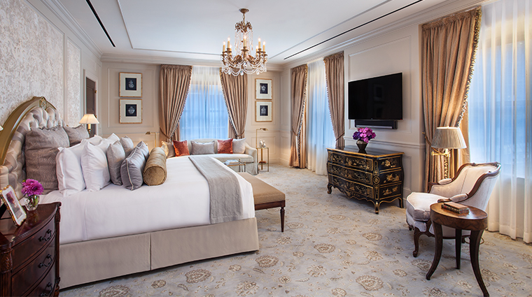 intercontinental new york barclay presidential master bedroom