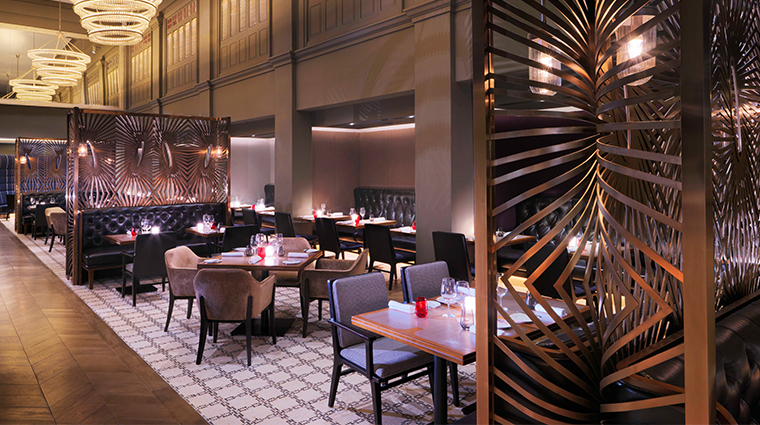 intercontinental singapore ash and elm dining