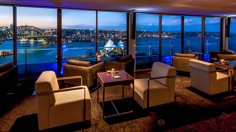 intercontinental sydney bar lounge