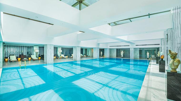 iridium spa at the st regis jing an shanghai pool