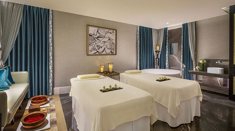 iridium spa at the st regis jing an shanghai treatment room