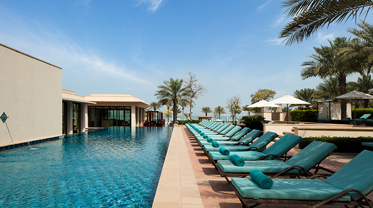 iridium spa at the st regis saadiyat island resort lap pool