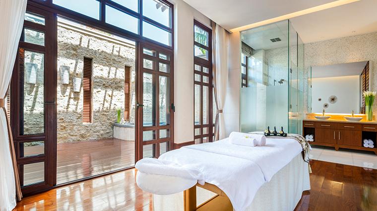 iridium spa at the st regis sanya yalong bay resort treatment room