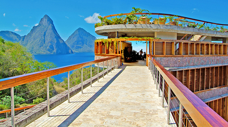jade mountain resort club walkway