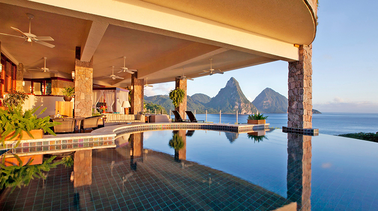 jade mountain resort galaxy sanctuary