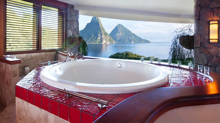 jade mountain resort sanctuary bathroom