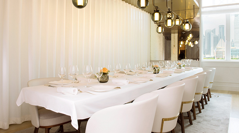 jean georges shanghai long table