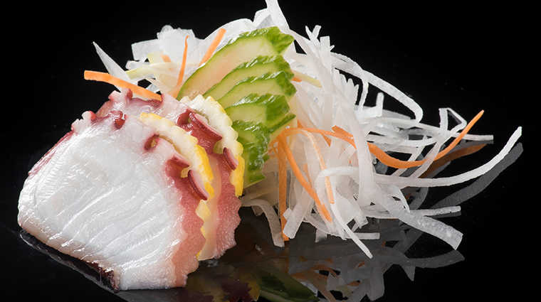 jia octopus sashimi