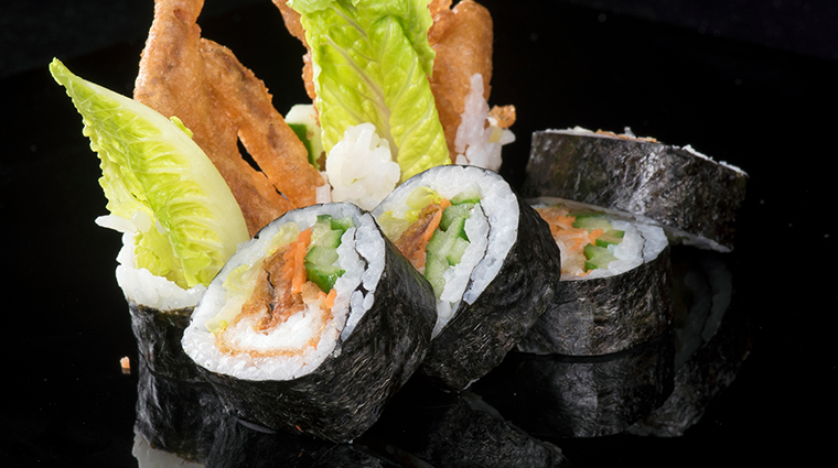 jia softshell crab roll