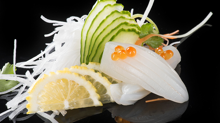 jia squid sashimi