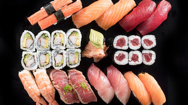 jia sushi for 2 setup