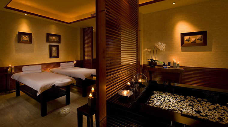 jiwa spa double treatment room