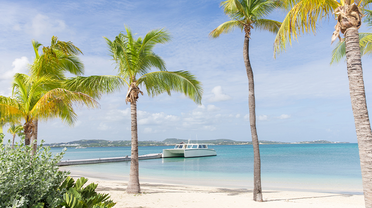 jumby bay island lifestyle boat