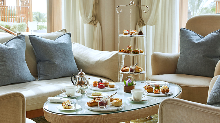 jumeirah al naseem Al Mandhar afternoon tea