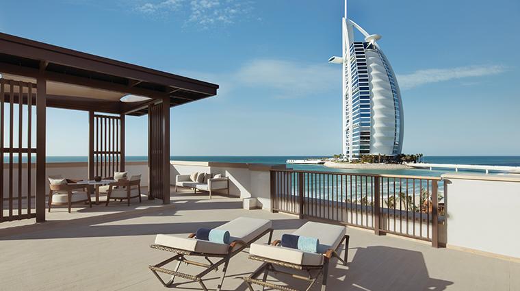 jumeirah al naseem ocean suite balcony