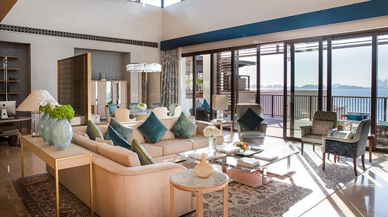 jumeirah al naseem presidential suite living room