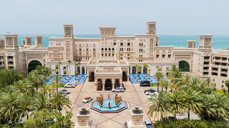jumeirah al qasr entrance