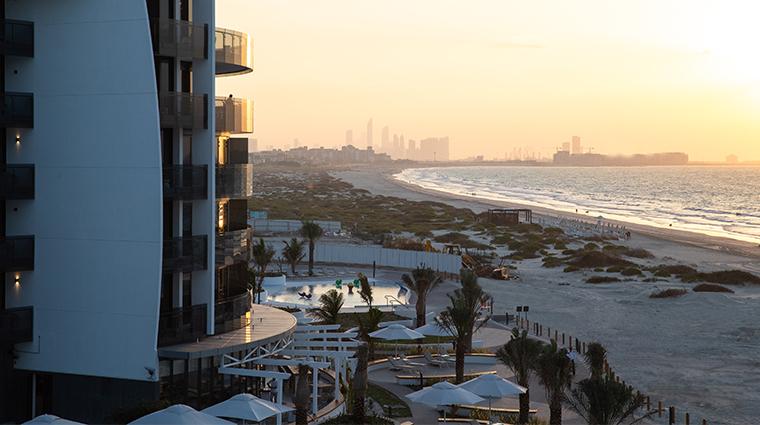 jumeirah saadiyat island resort beach view