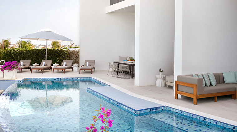 jumeirah saadiyat island resort four bedroom villa private pool