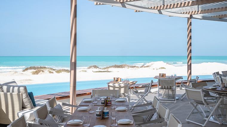 jumeirah saadiyat island resort mare restaurant