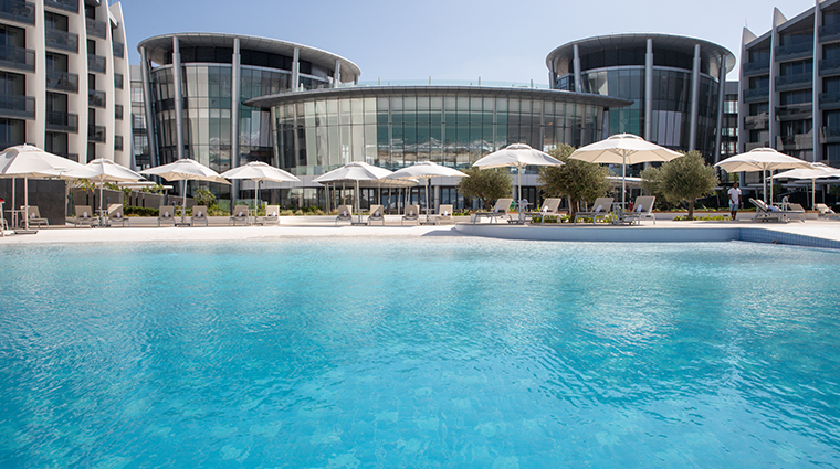 jumeirah saadiyat island resort pool view