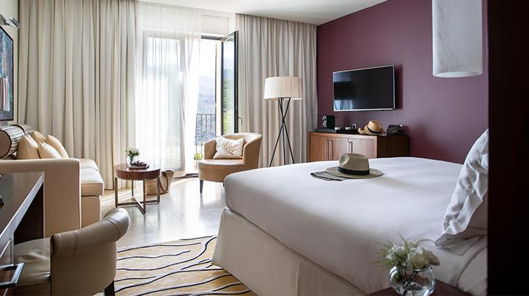 jumeirah port soller hotel spa Deluxe Mountain View Bedroom