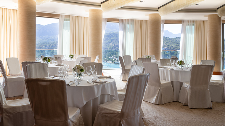 jumeirah port soller hotel spa Meeting Rooms Business Events Ballroom Banqueting Set Up
